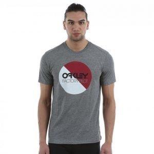 Oakley Fp Circle Graphic Tee T-paita Harmaa