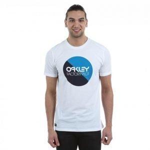 Oakley Fp Circle Graphic Tee T-paita Valkoinen