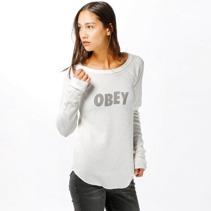 Obey Obey Jumbled -longsleeve