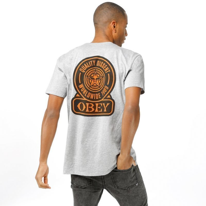 Obey Obey Quality Dissent -t-paita