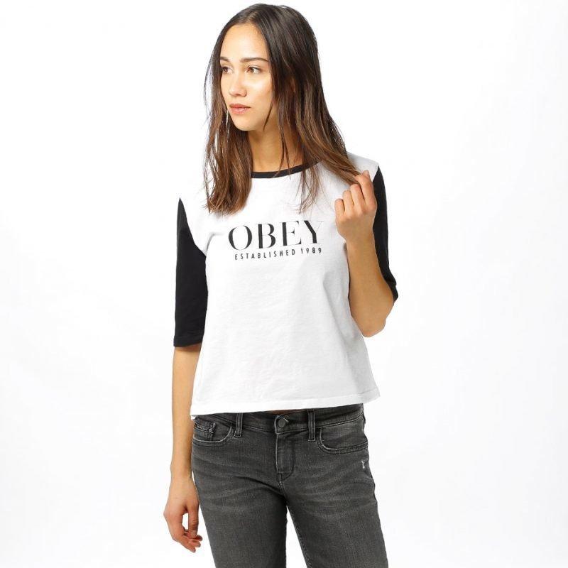 Obey Obey Vanity -t-paita