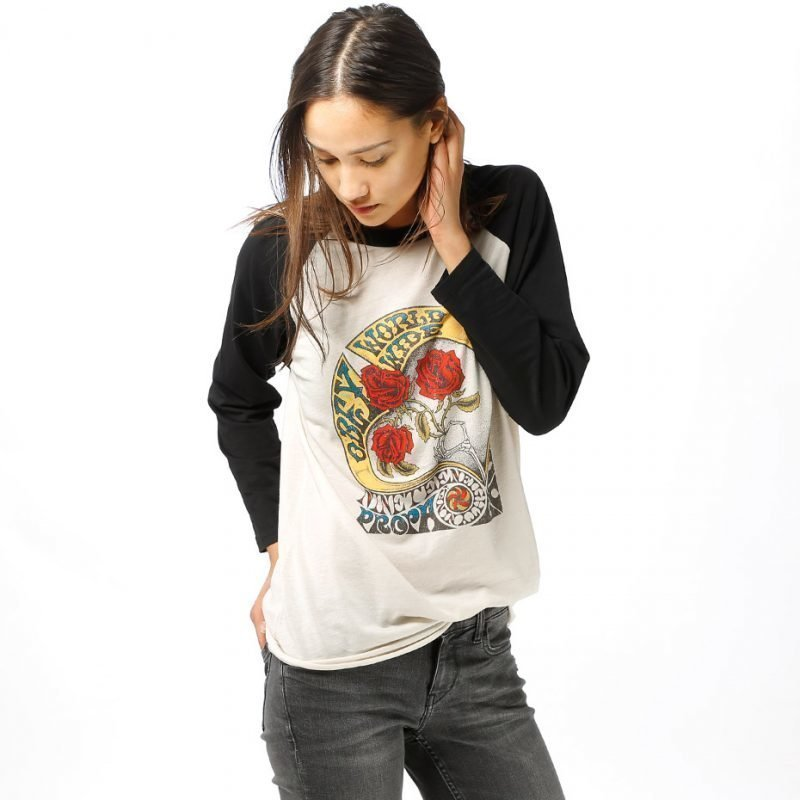 Obey Three Roses -longsleeve