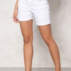 Object Ally Canvas Shorts White