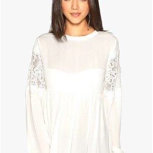 Object Beate L/S Shirt Egret