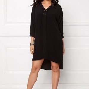 Object Betty Lou 3/4 Dress Black