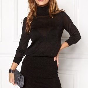 Object Brooklyn l/s knit dress Black