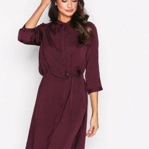 Object Collectors Item Objadrianne 3 / 4 Dress Apb Loose Fit Mekko Tummanvioletti