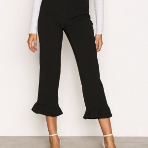 Object Collectors Item Objcamille Mw Ruffle Pants A Housut Musta