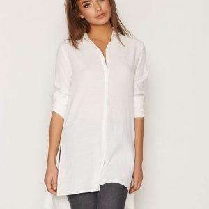 Object Collectors Item Objcorine L / S Long Shirt Noos Kauluspaita Valkoinen