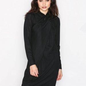 Object Collectors Item Objcosma L / S Dress 94 Kotelomekko Musta