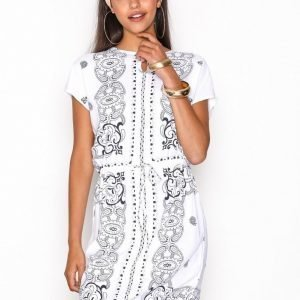Object Collectors Item Objdaniella Dallas Dress .I 91 Pitkähihainen Mekko Valkoinen