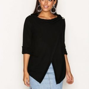 Object Collectors Item Objdeanna Light Knit Cardigan Noos Neuletakki Musta