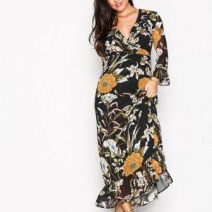 Object Collectors Item Objfabrice Long Dress A Ny17 Div Maksimekko Musta