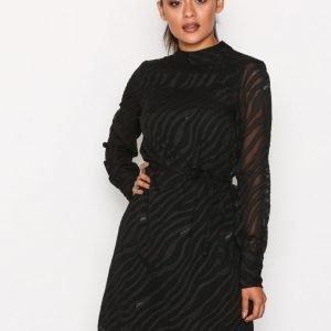 Object Collectors Item Objgabrielle L / S Dress 94 Pitkähihainen Mekko Musta