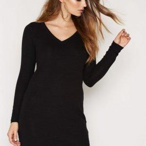 Object Collectors Item Objnadine L / S Knit Dress Noos Mekko Musta
