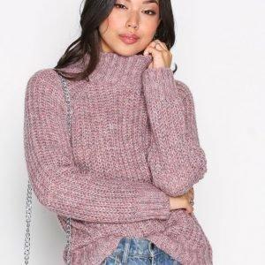 Object Collectors Item Objpatricia L / S Knit Pullover 92 .C Neulepusero Vaaleanpunainen