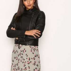 Object Collectors Item Objrake Leather Jacket Noos Nahkatakki Musta