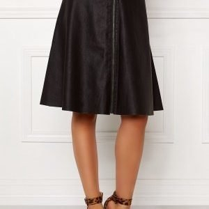 Object Cupa mw faux skirt Black