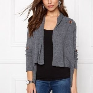 Object Deanna Knit Cardigan noos Grey Melange