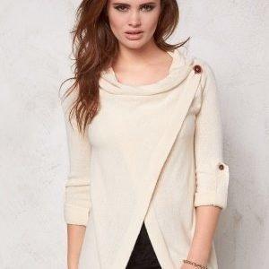 Object Deanna L/S Knit Cardigan Egret