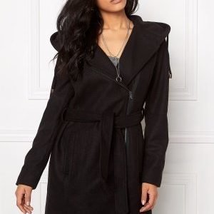 Object Jolie Coat Black