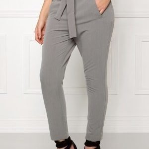 Object Lei mw ancle pant Medium grey melange