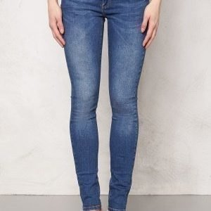 Object Skinny Sally Jeans Medium Blue Denim