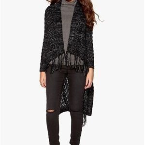 Object Telli L/S Cardigan Black