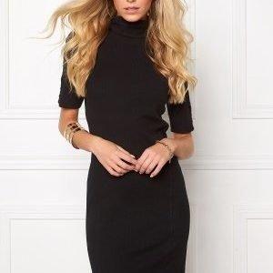 Object Zoe 2/4 Roll Short Dress Black