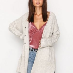Odd Molly Ballroom Long Cardigan Neuletakki Chalk