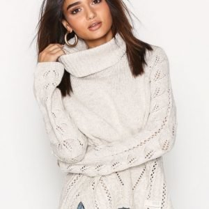 Odd Molly Ballroom Sweater Neulepusero Chalk