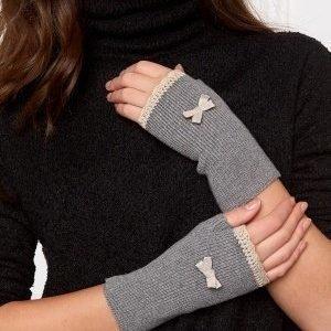 Odd Molly Cabin sleevewarmer Grey