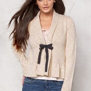 Odd Molly Canna Cardigan Golden Porcelain