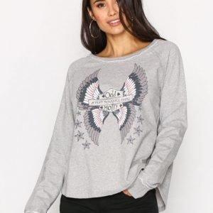 Odd Molly Choir Sweater Svetari Light Grey Melange