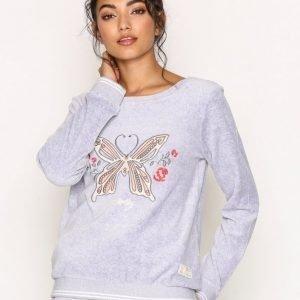 Odd Molly Get Along Sweater Svetari Light Grey Melange