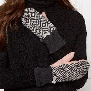 Odd Molly Girl power mitten Almost Black