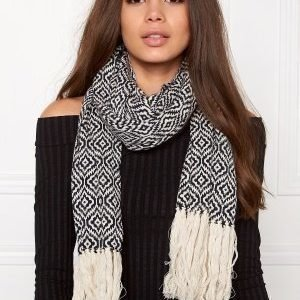 Odd Molly Girl power scarf Dark navy
