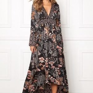 Odd Molly Intuition Dress Almost Black
