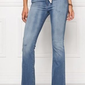 Odd Molly Janis stretch flare jeans Light blue