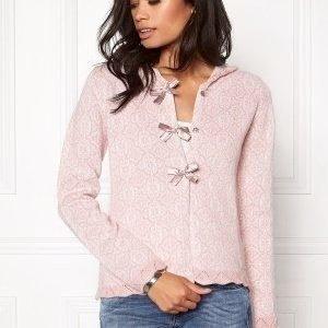 Odd Molly Le Knit Cardigan Milky Pink