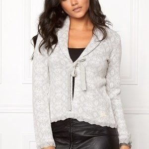 Odd Molly Like No Other Cardigan Light Grey Melange