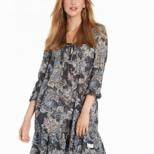 Odd Molly Little Piece Dress Pitkähihainen Mekko Asphalt