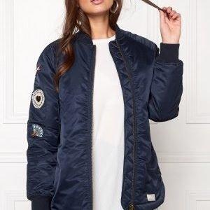 Odd Molly Love Bomber Jacket Dark Navy