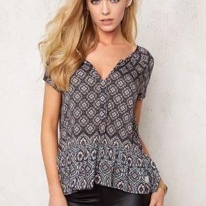 Odd Molly Love affair s/s blouse Asphalt