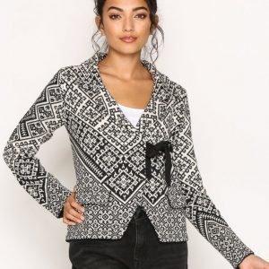 Odd Molly Lovely Knit Jacket Neuletakki Black