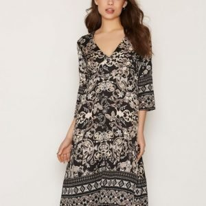 Odd Molly Odyssey Dress Loose Fit Mekko Dark