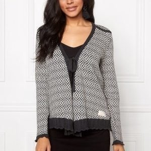 Odd Molly Ready Set Go Cardigan Almost Black