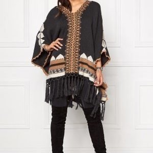 Odd Molly To the sky poncho Almost Black