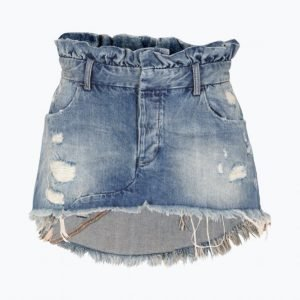 One Teaspoon Le Cult Mini Skirt Farkkuhame