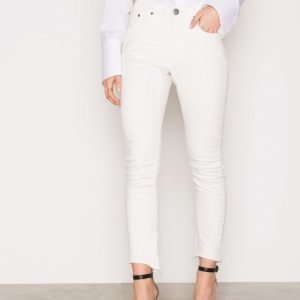 One Teaspoon Moleskin White Kidds Skinny Farkut White